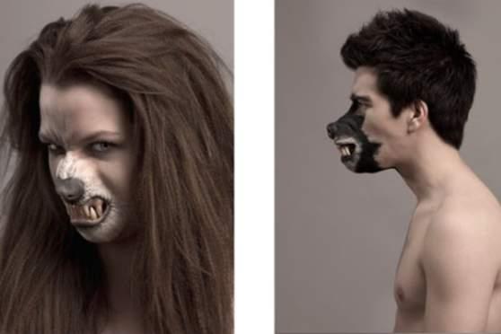 Die Maske für die Person miliumy