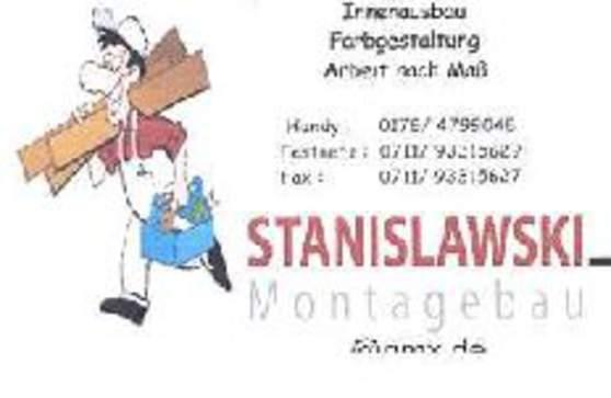 Stanislawski montagebau stuttgart ostfildern stuttgart for Innendekorateur informationen