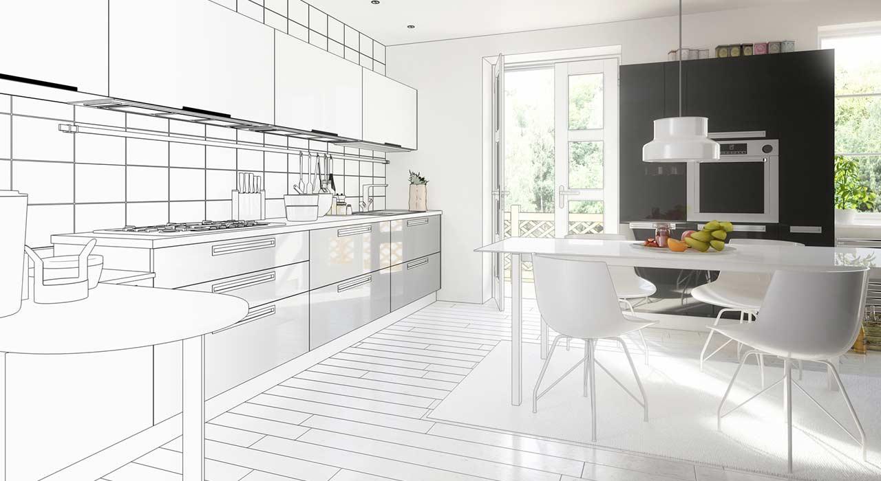 Küchenplanung: Perfekte Ergonomie dank sinnvoller Raumplanung ...