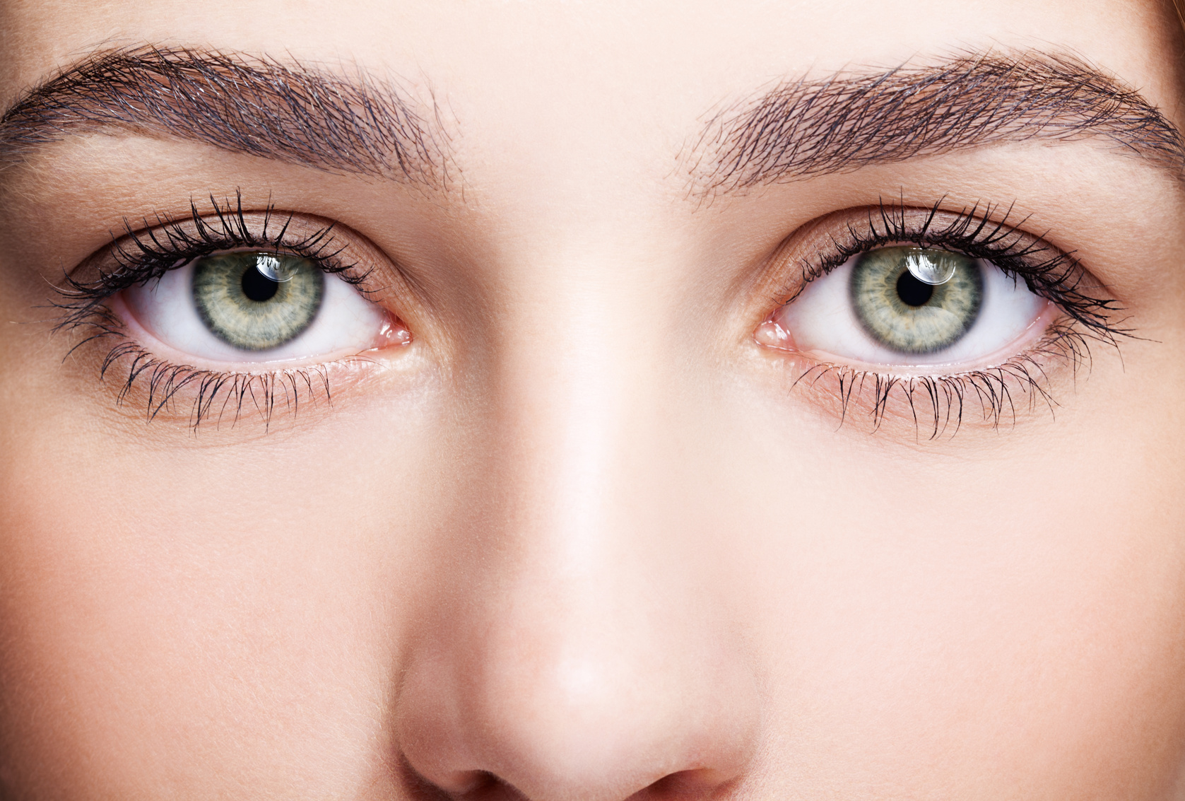 Augen menschen mit schwarzen Was würden