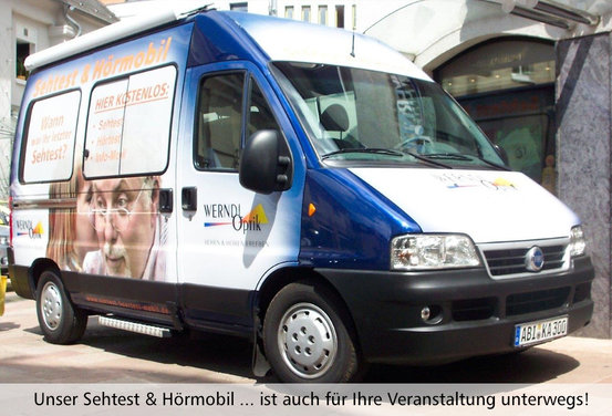 Sehtest und Hoermobil