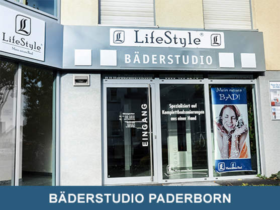 Badausstellung Paderborn lifestyle bad innovationen gmbh partner bäderstudios detmold