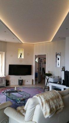 Wohnzimmer Spanndecke In Wiesbaden