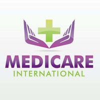 Weiteres Logo der Firma Medicare International