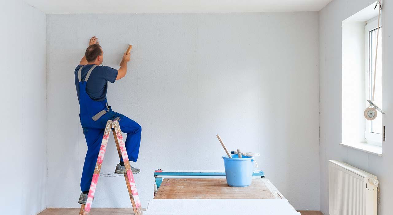 kleister krampf ad wie man richtig tapeziert ratgeber magazin tipps von. Black Bedroom Furniture Sets. Home Design Ideas